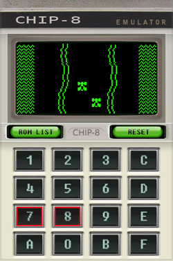 chip-8 screen
