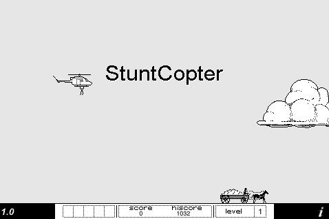 stuntcopter screen