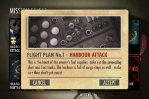 ibomber menu