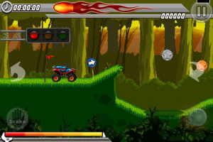 stunt car racing 99 tracks screen