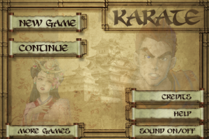 karate_main_menu