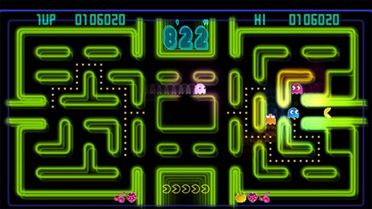 pac-man_ce screen
