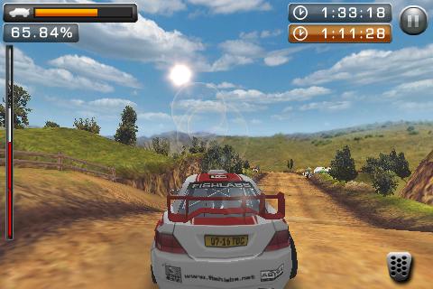 rally master pro lense flare