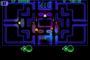 pac-man ce 2 screen