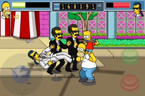 TheSimpsonsArcade_iPhone 3
