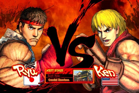 Anime Street Fighter
