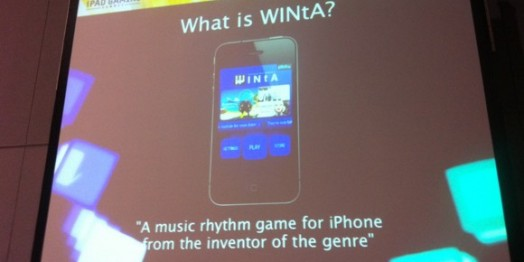 GDC Online 2010: 'WINtA' - A Rhythm Game from the Creator of 'PaRappa the Rapper'