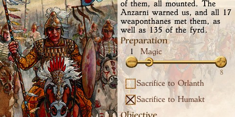 """'King of Dragon Pass' Review - """"Thus ends our sorry tale, the tale of clan Fart."""""""