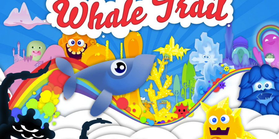 'Whale Trail' is a Psychedelic Flight Through the Sky... as a Whale
