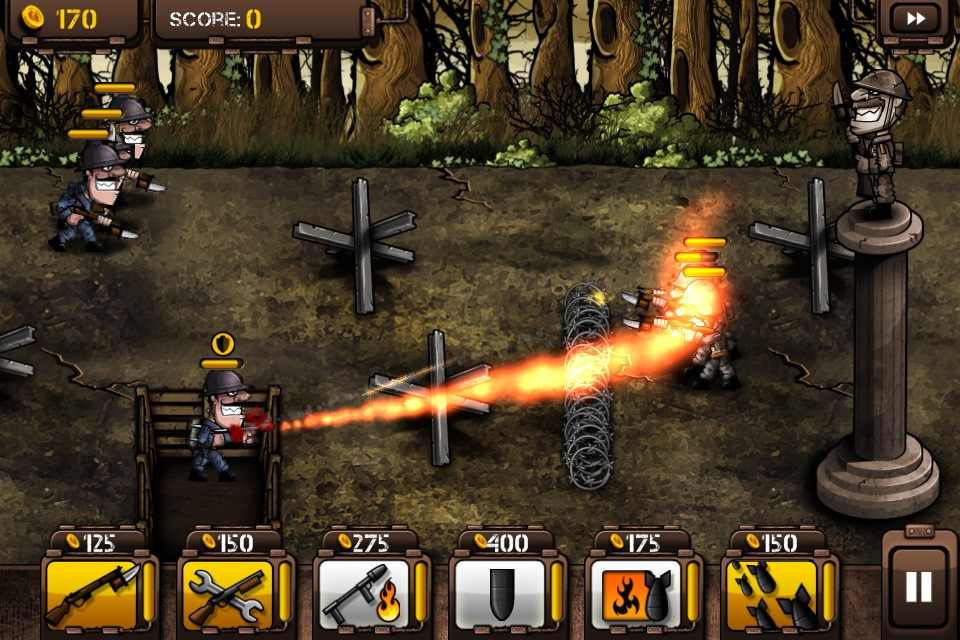 Trenches Game Iphone Game For Iphone And Ipad