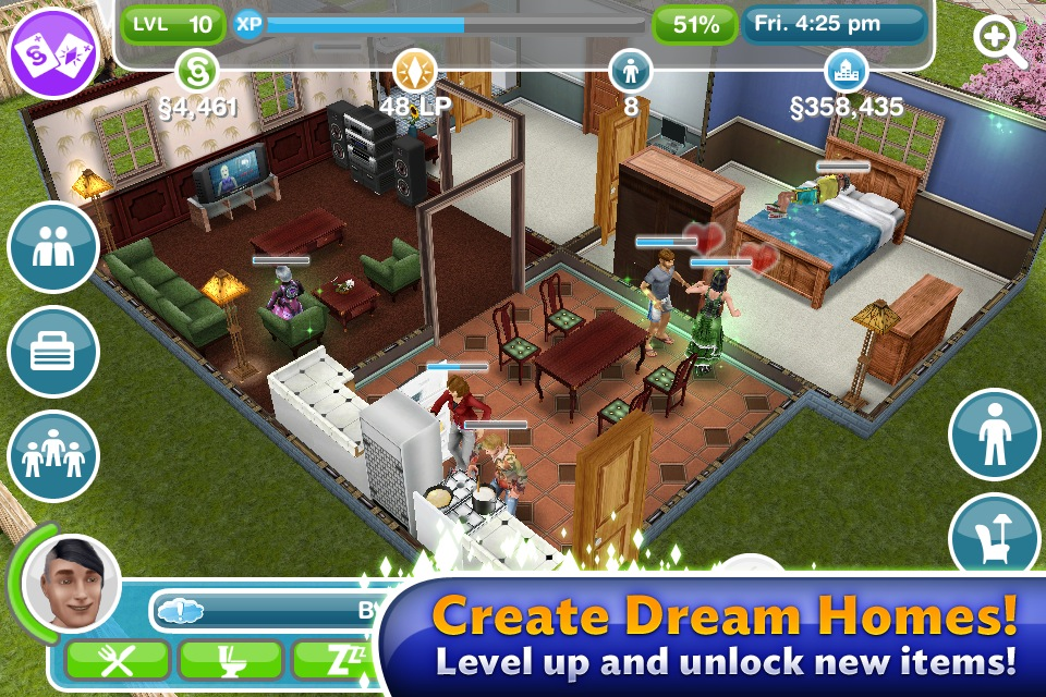 The sims freeplay review play god in real time