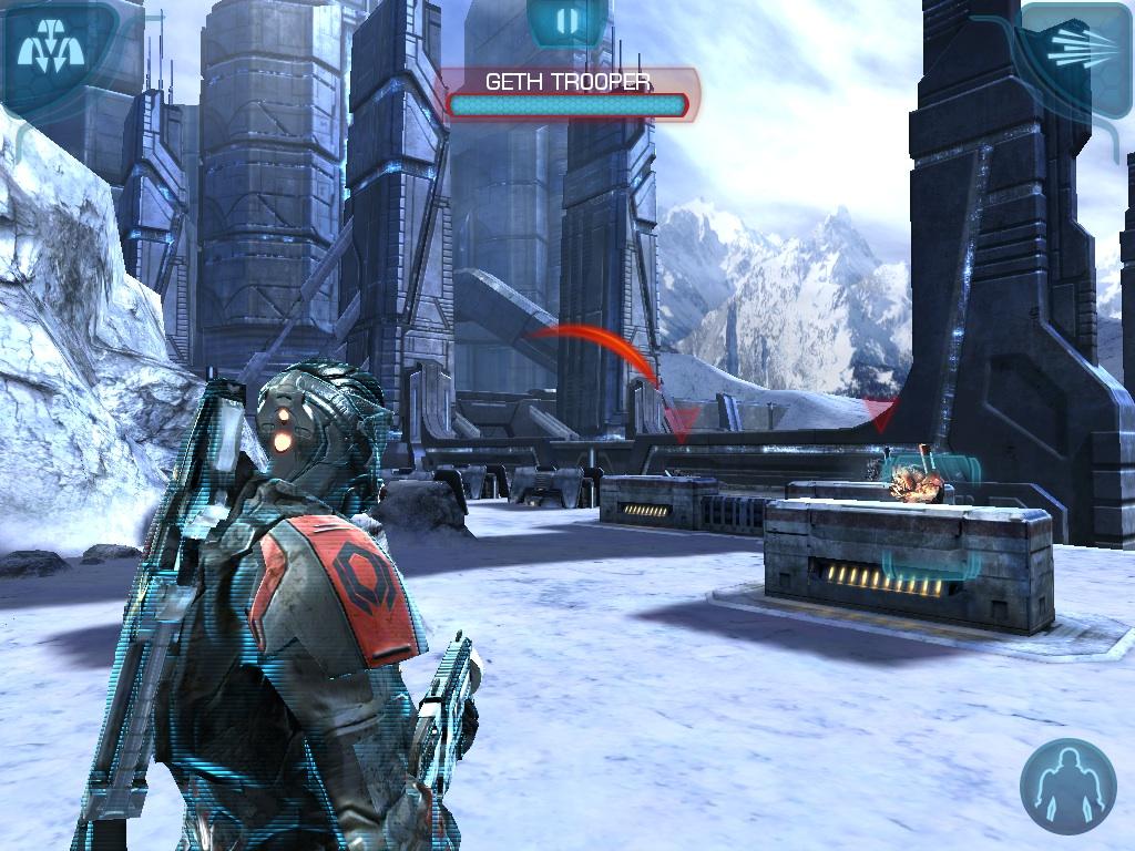 MASS EFFECT™ INFILTRATOR v1 39 » Игры андроид