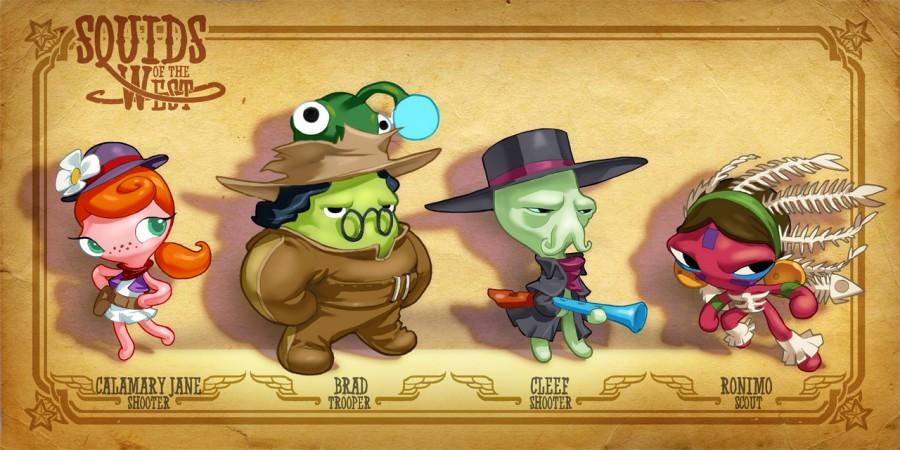 GDC 2012: 'Squids' Sequel 'Squids Western Kingdom' Coming This Summer