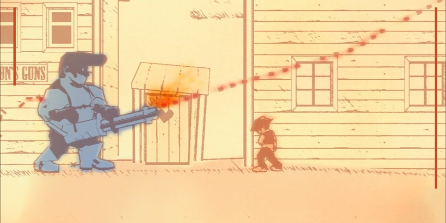 'Gunman Clive' Review - A Playful Sketch of the Wild West