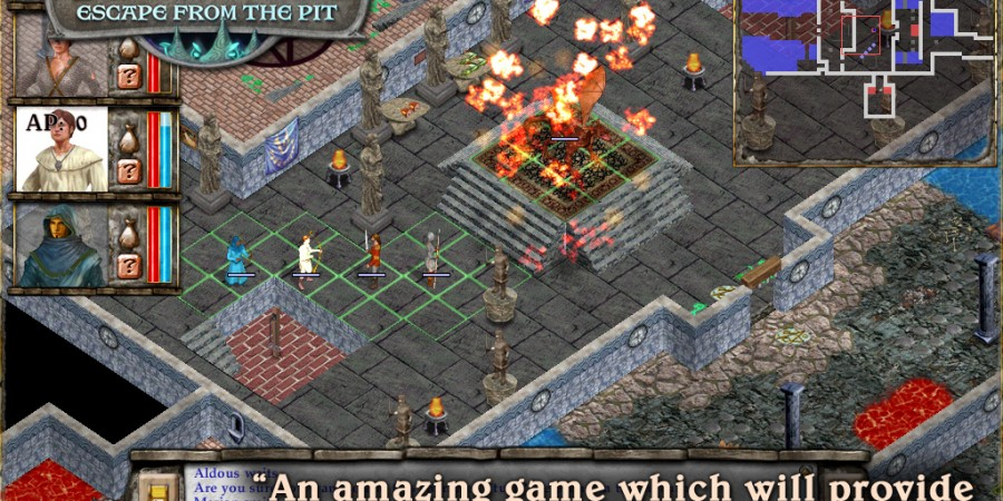 'Avernum: Escape From the Pit HD' for iPad Review – A Rewarding History Lesson