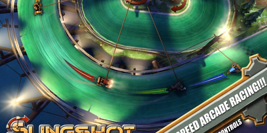 'Slingshot Racing' Review - Mobile Racing Redefined