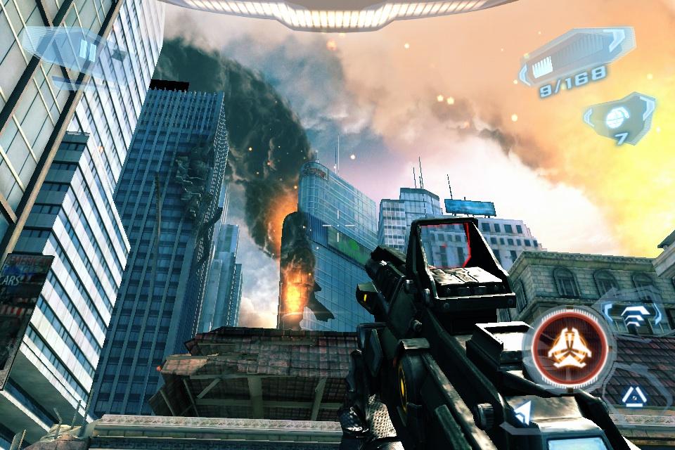 Mobilní hra N.O.V.A. 3   Near Orbit Vanguard Alliance   super hry hry pro dva hrace hd androidhry akcni hry
