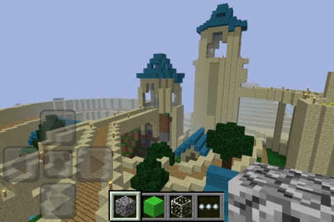 Minecraft House Designs on Minecraft   Pocket Edition  Update Adds Smelting And Growing   Touch