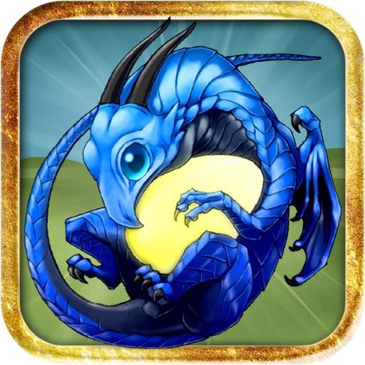 Blue Fire Dragon Dragon Island Blue $0.99 is