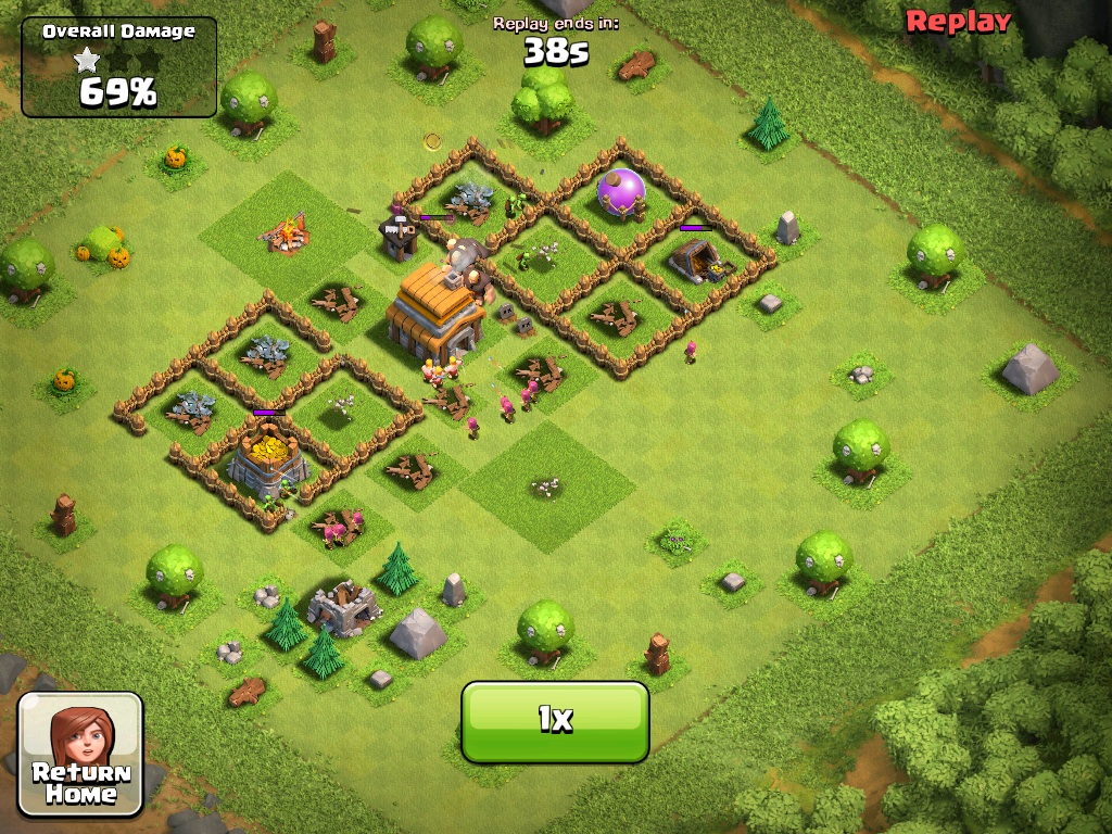 Clash of Clans Town Hall Level 5