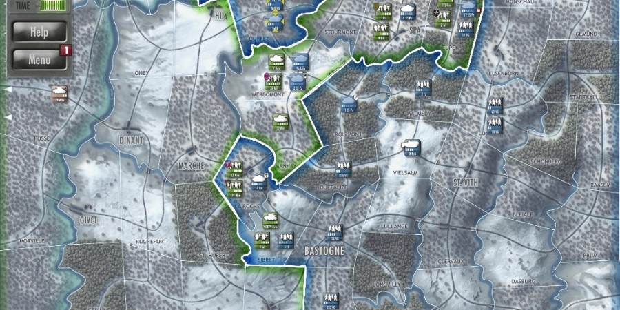 'Battle of the Bulge' for iPad Review - A Grognard's Wardream