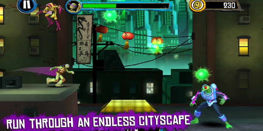 'Teenage Mutant Ninja Turtles: Rooftop Run' Review - Turtle-Tapping Fun