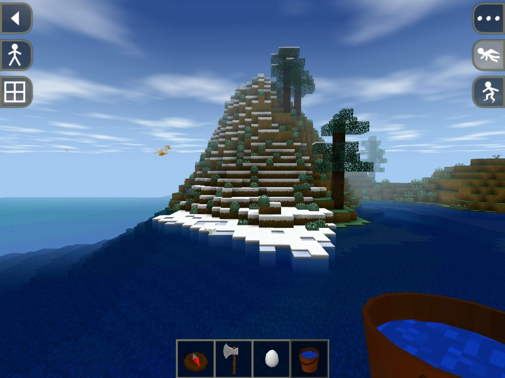 Better mobile minecraft than the actual mobile minecraft