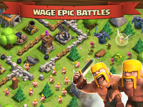 Clash of Clans New Troops