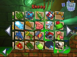 Worms 3 - Weapons Panel-1