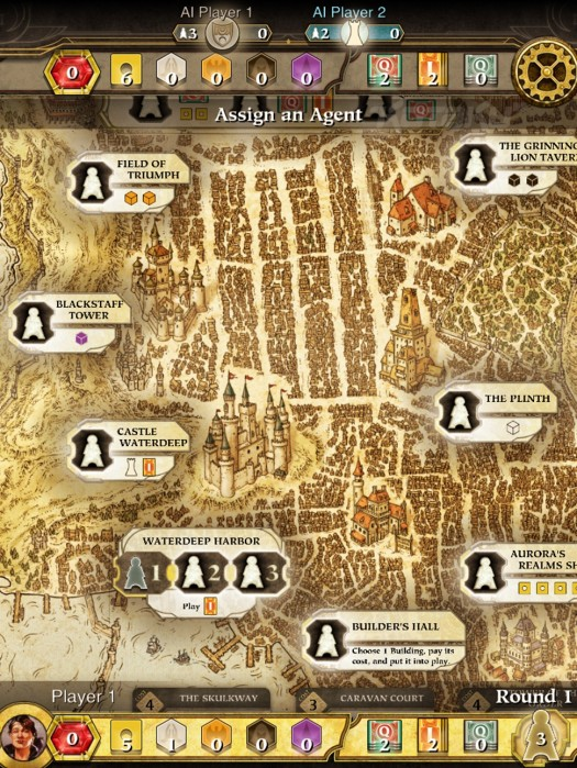 Wizards of the Coast Announce 'Dungeons & Dragons Lords of Waterdeep' For iPad
