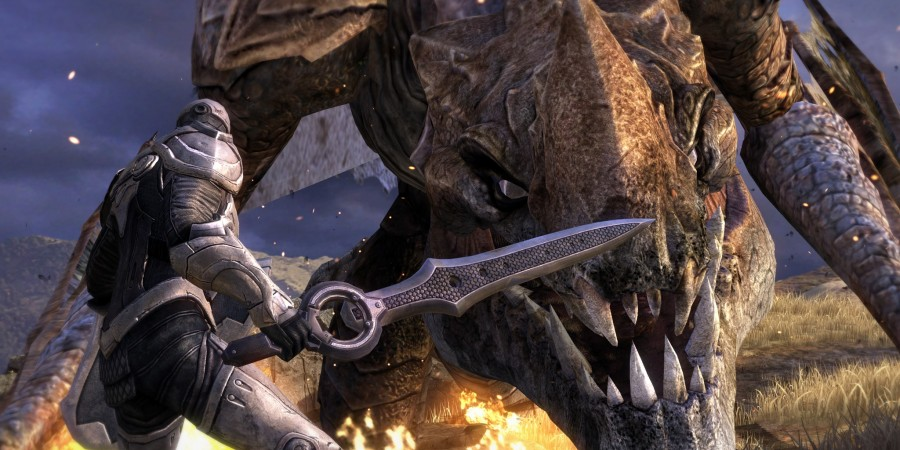 'Infinity Blade III' Review - Chair Raises the Graphical Bar to Low Earth Orbit