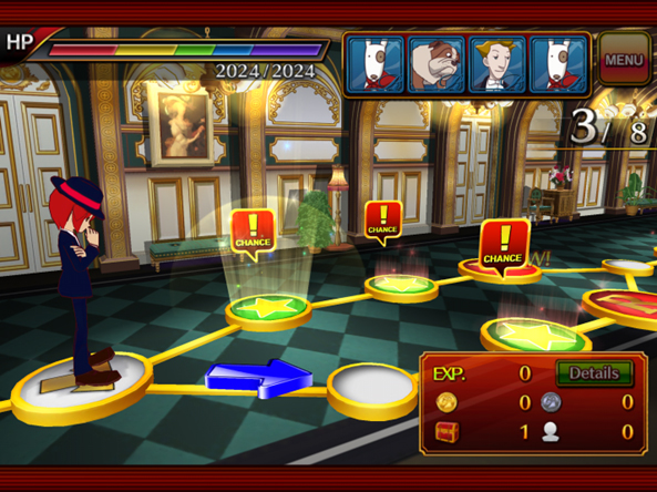 Rhythm Thief Screenshot 2