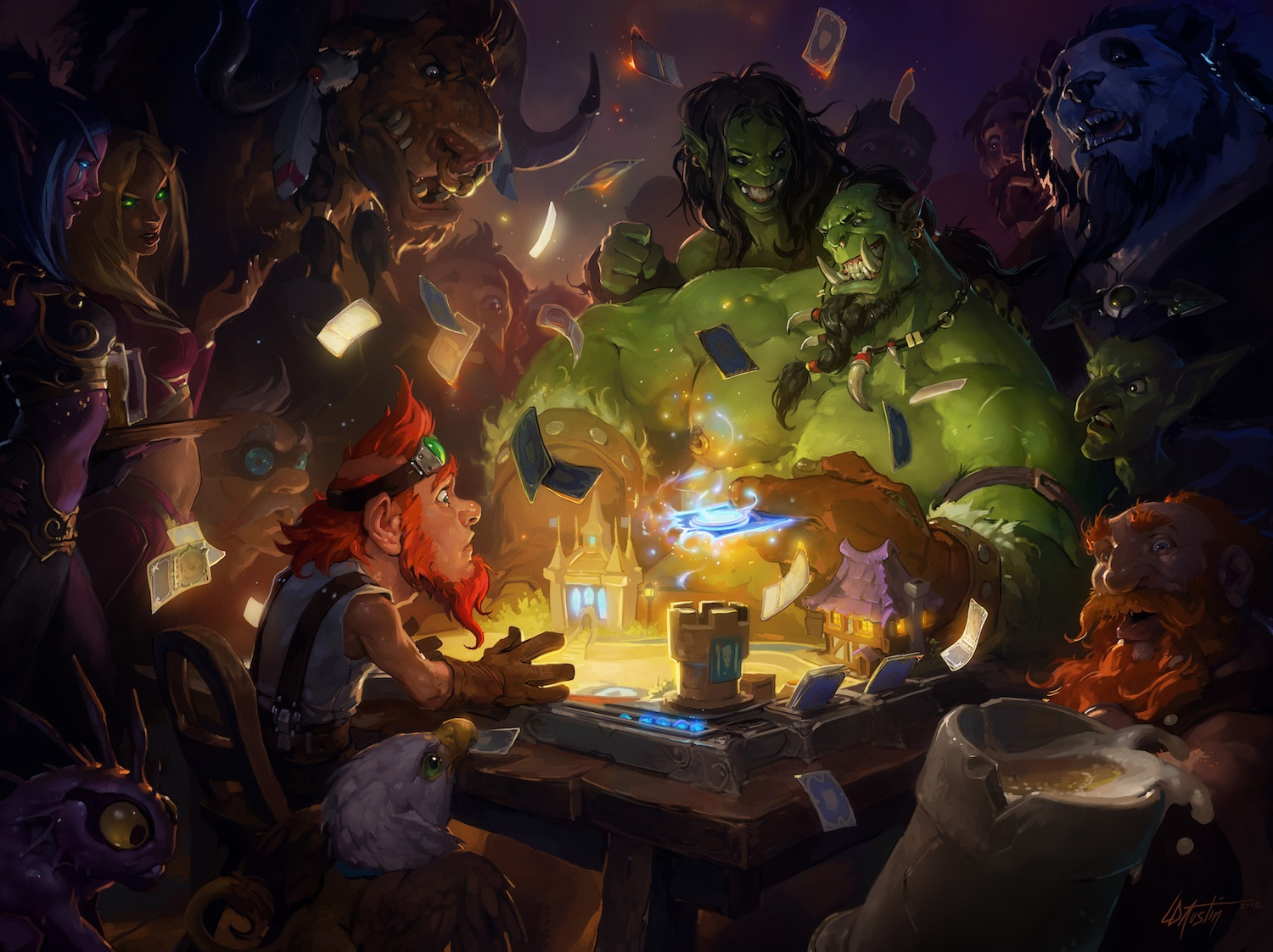 Hearthstone Announcement Art