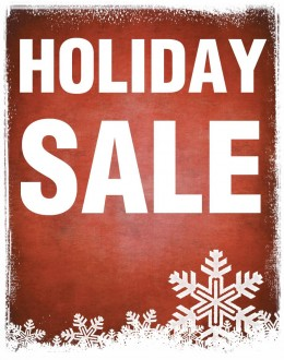 Holiday Sale full size