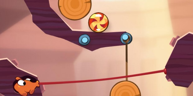 'Cut the Rope 2' Review - The Candy Chomping Creature Returns for More Gravity Puzzle Fun