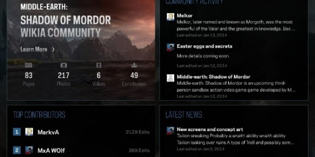 'Middle-earth: Shadow of Mordor' Companion App Will Offer Hints Based on What it Hears [Update: It's Out]