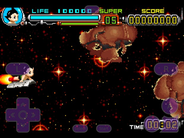 Astro Boy Omega Factor GBA4iOS