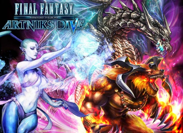 Final Fantasy Artinks Dive 01
