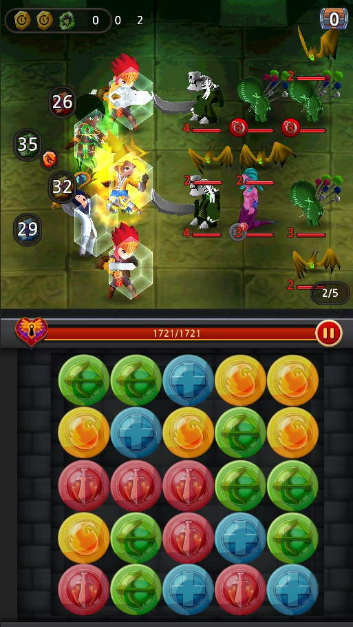 Dungeon Hearts Blitz - Screen 1