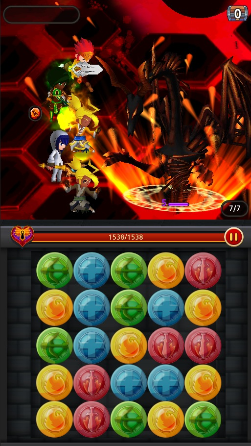 Dungeon Hearts Blitz - Screen 4