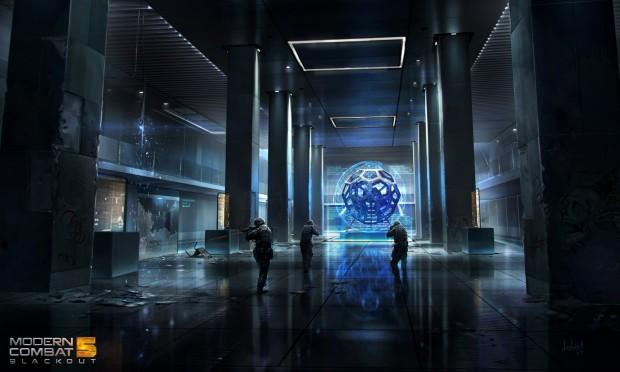 Modern Combat 5 Lobby