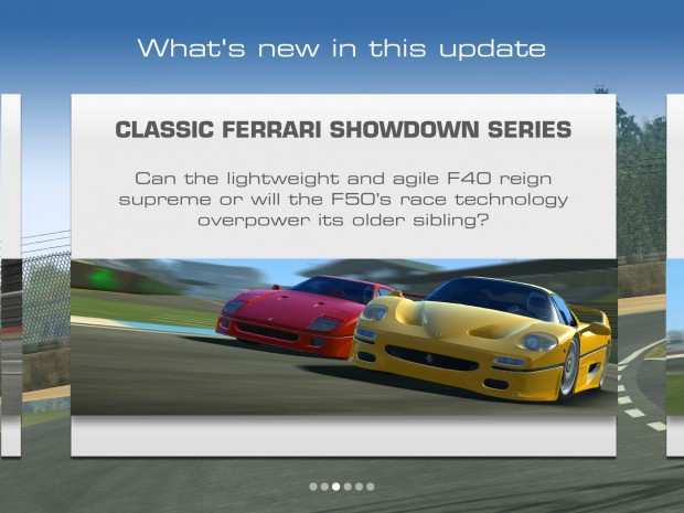 Real Racing 3 Ferrari Update 1