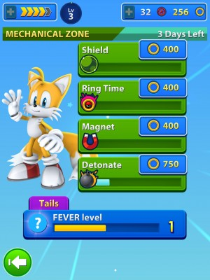 Sonic Jump Fever Launch 1