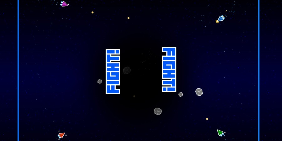 'Astro Duel' for iPad Review - A Fabulous Single Device Local Multiplayer Arcade Game