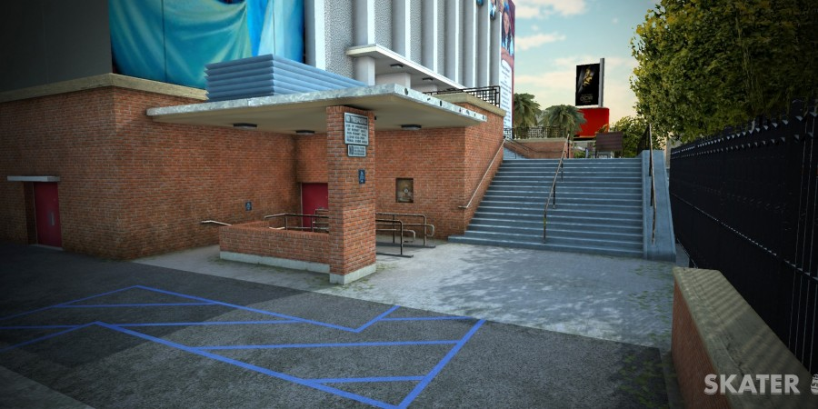Check Out 'Skater', an Upcoming Skateboard Simulation Game that Features Real World Skate Spots