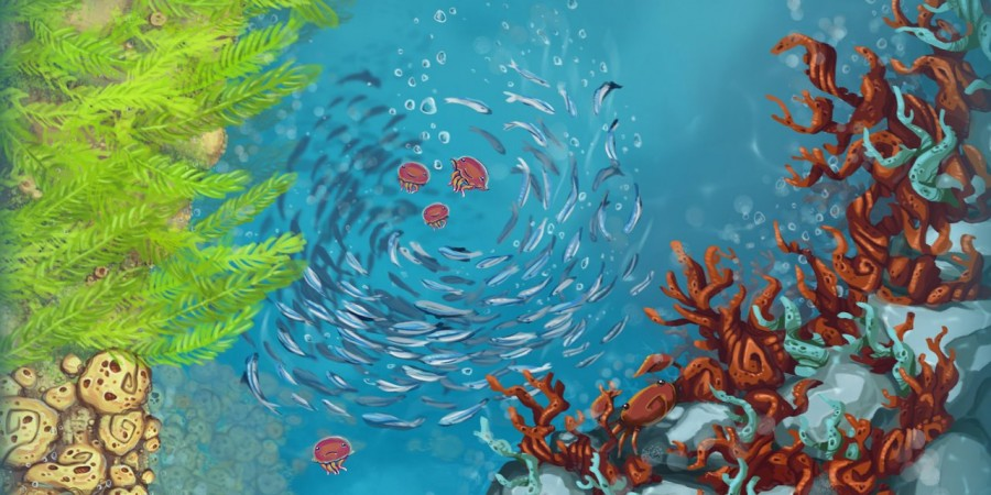 'Jelly Reef' Coming Next Year from 'Fingle' Creators Game Oven