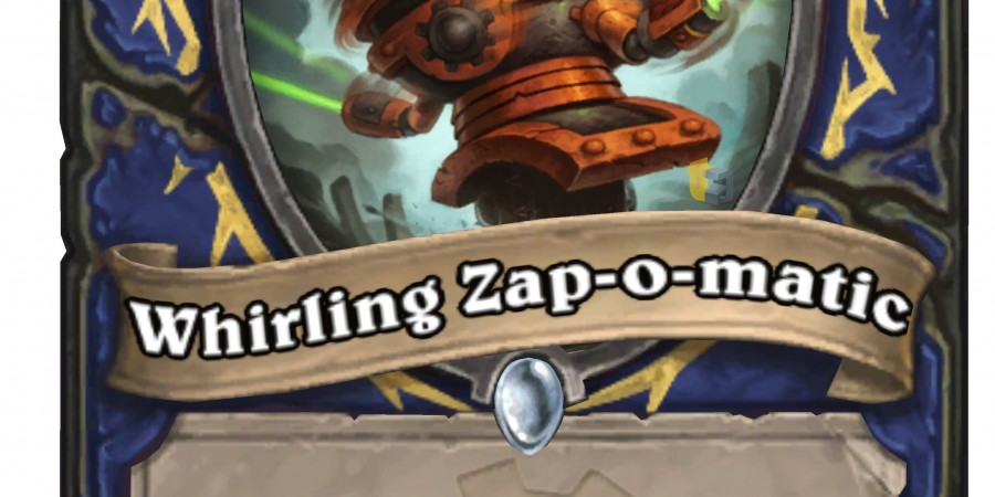 Exclusive 'Hearthstone' Goblins vs Gnomes Card Reveal: Whirling Zap-o-matic
