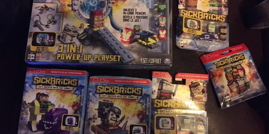 A Closer Look at Character Beaming in the Upcoming 'Sick Bricks'