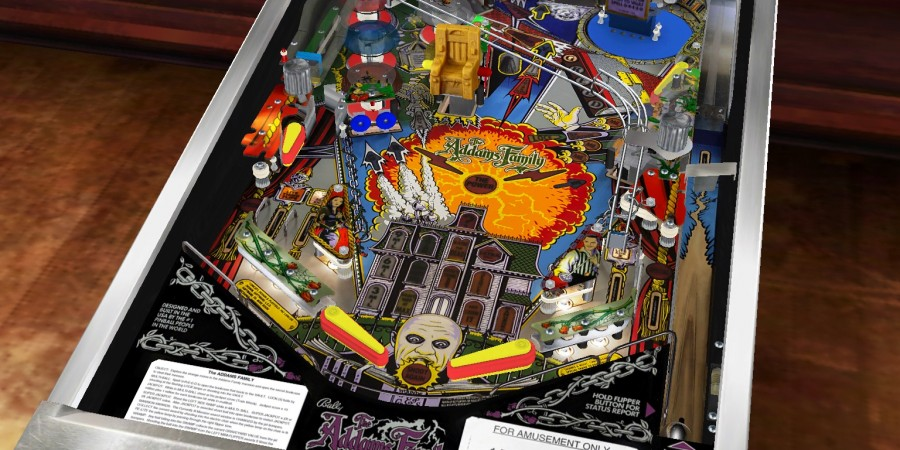 'Pinball Arcade: The Addams Family' Review - And Now, This Mamushka Is For You