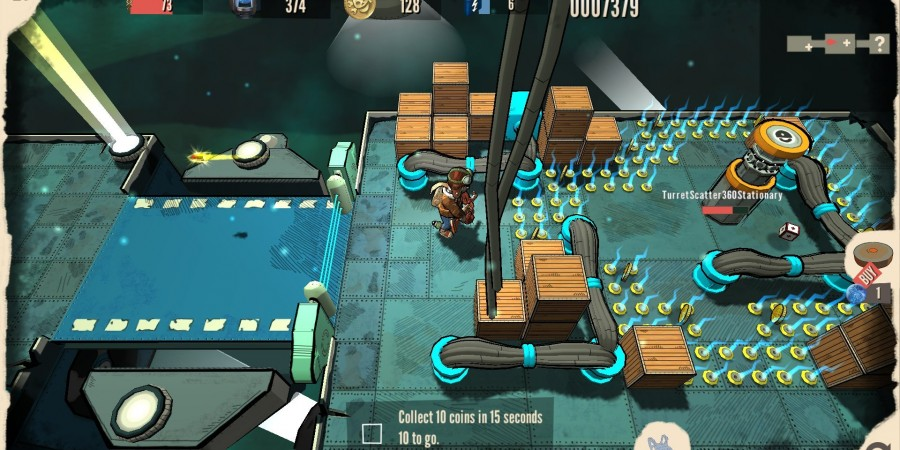 'Future Factory' Preview - A Dual-Stick Roguelike Shooter, for Mobile?
